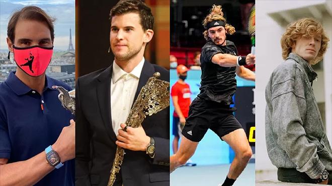 Kết quả ATP Finals 2020 ngày 15/11, sáng 16/11. Nadal thắng dễ Rublev, Dominic Thiem đòi nợ Tsitsipas