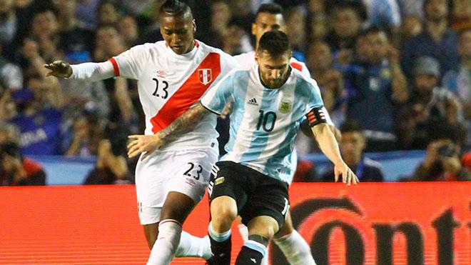 Link xem trực tiếp bóng đá. Peru vs Argentina. Trực tiếp vòng loại World Cup khu vực Nam Mỹ