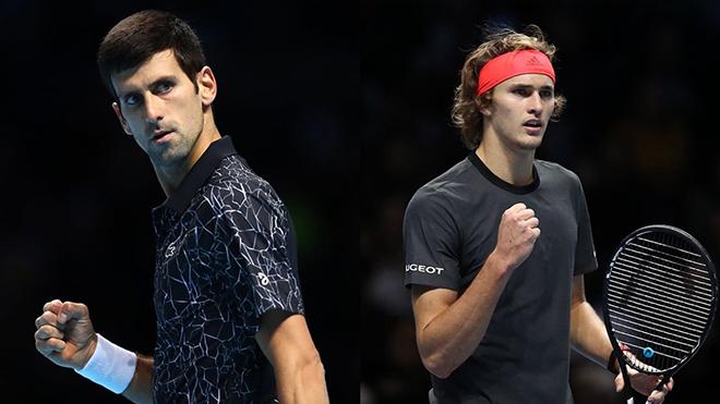 Kết quả ATP Finals 2020 20/11, sáng 21/11. Hạ Zverev, Djokovic vào bán kết, đấu Dominic Thiem