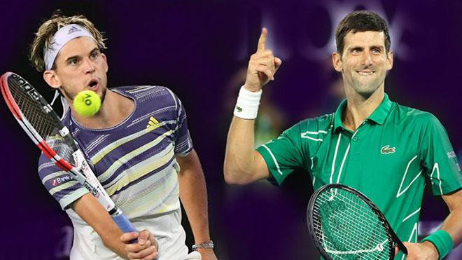 Lịch thi đấu tennis ATP Finals 2020 hôm nay. Trực tiếp Thiem vs Djokovic, Medvedev vs Nadal. TTTV, K+PC