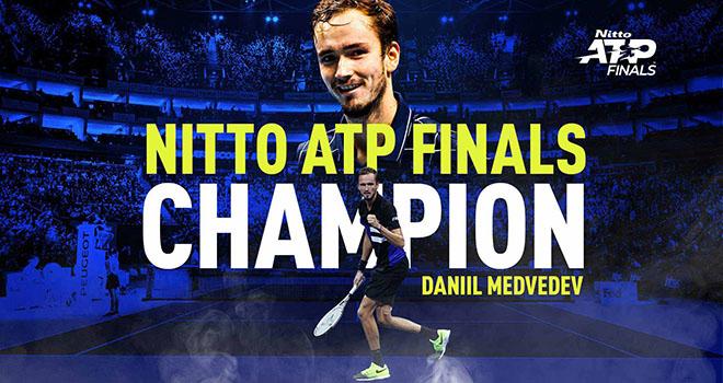 Kết quả ATP Finals 2020, Kết quả Medvedev vs Thiem, Ket qua tennis. Thiem đấu với Medvedev, Medvedev vs Thiem, Chung kết ATP Finals 2020, Medvedev vô địch ATP Finals 2020