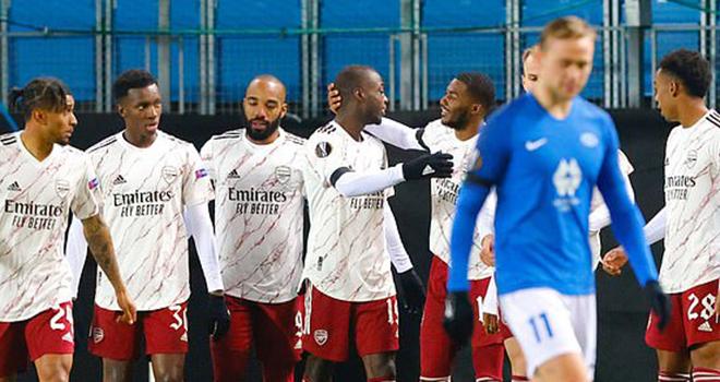 Ket qua bong da, ket qua cup C2, ket qua Europa League, Molde vs Arsenal, Tottenham vs Ludogorets, Lille vs AC Milan