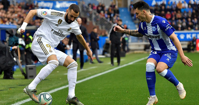 Video Real Madrid vs Alaves. Video clip bàn thắng trận Real Madrid vs Alaves