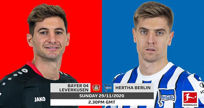 Lich thi dau bong da hom nay, vtv6, trực tiếp bóng đá, Leverkusen đấu với Hertha Berlin, truc tiep bong da, Leverkusen vs Hertha Berlin