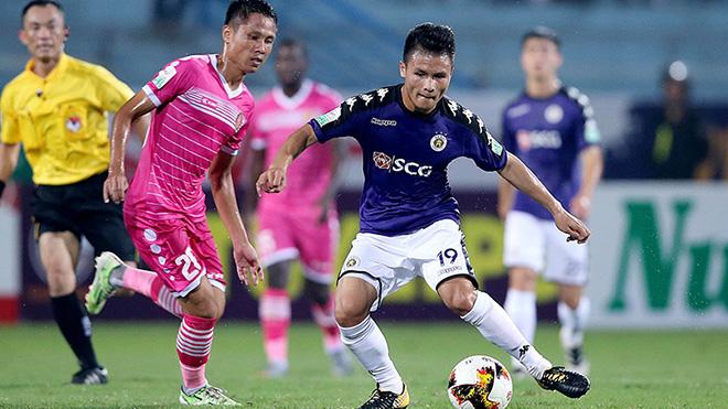 Lịch thi đấu bóng đá hôm nay. Trực tiếp Hà Nội đấu với Sài Gòn. VTV6, BĐTV