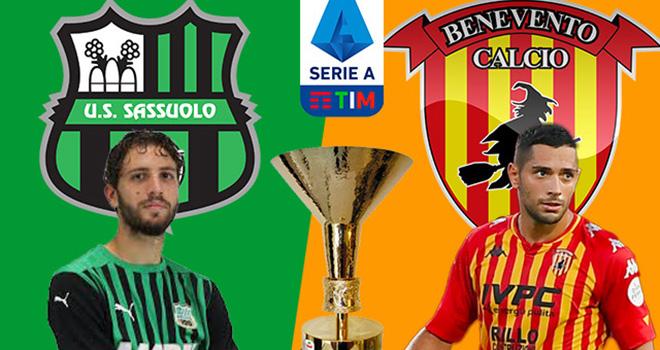 Sassuolo vs Benevent, lịch thi đấu bóng đá, trực tiếp bóng đá, Serie A