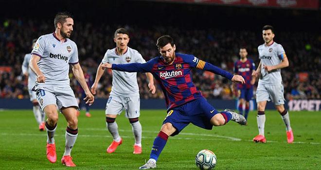 Barcelona vs Levante Lich thi dau bong da hom nay, Palace vs Tottenham, Fulham vs Liverpool, K+, K+PM, Truc tiep bong da, Lịch thi đấu bóng đá, lịch thi đấu Ngoại hạng Anh, BXH Ngoại hạng Anh