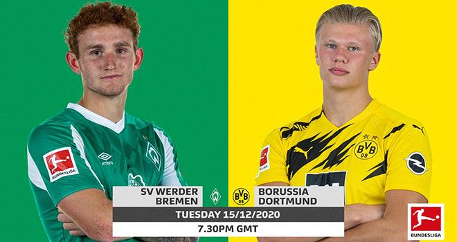 Bremen vs Dortmund,Ket qua bong da, ket qua Bundesliga