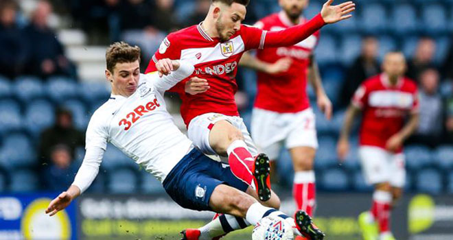 Preston vs Bristol City, lịch thi đấu bóng đá, trực tiếp bóng đá, hạng Nhất Anh