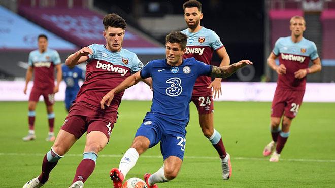 Lịch thi đấu bóng đá hôm nay. Trực tiếp Chelsea đấu với West Ham. K+, K+PM