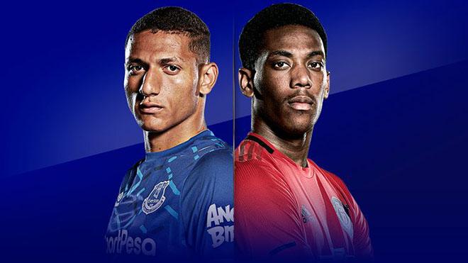 Lịch thi đấu bóng đá hôm nay: Trực tiếp MU đấu với Everton. TTTT HD
