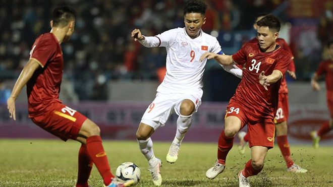 Lịch thi đấu bóng đá hôm nay: Trực tiếp U22 Việt Nam vs ĐT Việt Nam. K+PM. BĐTV. VTC3