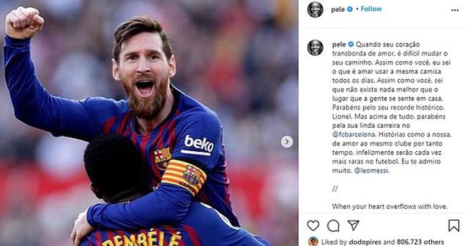 Messi, Pele, Messi vs Pele, Messi chưa phá kỷ lục của Pele, Santos, Barcelona, Kỷ lục ghi bàn, Messi phá kỷ lục, Messi chưa phá kỷ lục, Kỷ lục ghi bàn của Pele, Bong da
