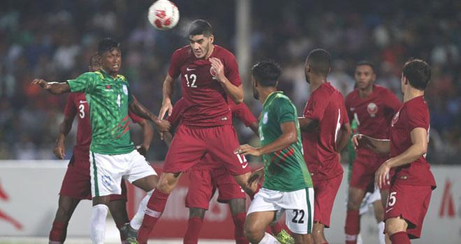 Qatar vs Bangladesh, truc tiep bong da, lich thi dau bong da