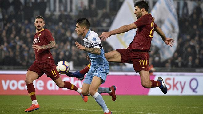 Lazio vs Roma, lịch thi đấu bóng đá, trực tiếp bóng đá, lịch thi đấu Serie A, bảng xếp hạng Serie A