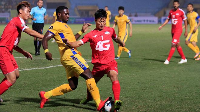 Lịch thi đấu bóng đá hôm nay. Trực tiếp Thanh Hóa vs Viettel, TPHCM vs Hà Tĩnh. VTV6, BĐTV, VTC3