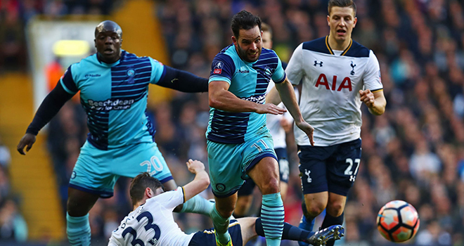 Ket qua bong da, Wycombe Tottenham, Video Wycombe Tottenham, Kết quả Cúp FA, kết quả bóng đá, kết quả Wycombe Tottenham, kết quả La Liga, BXH La Liga, Bilbao Getafe, kqbd