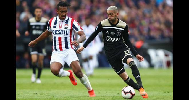 Ajax vs Willem, lịch thi đấu bóng đá, trực tiếp bóng đá