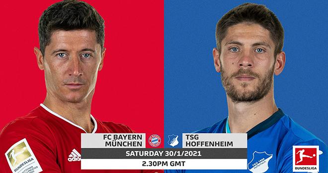 Bayern vs Hoffenheim, lịch thi đấu bóng đá, trực tiếp bóng đá, Bundesliga
