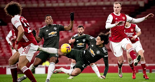 Ket qua bong da, Arsenal vs MU, Video Arsenal vs MU, BXH Ngoại hạng Anh, Kqbd, kết quả Arsenal vs MU, kết quả Ngoại hạng Anh MU mất niềm tin, Ole, Bruno, Cavani, Rashford