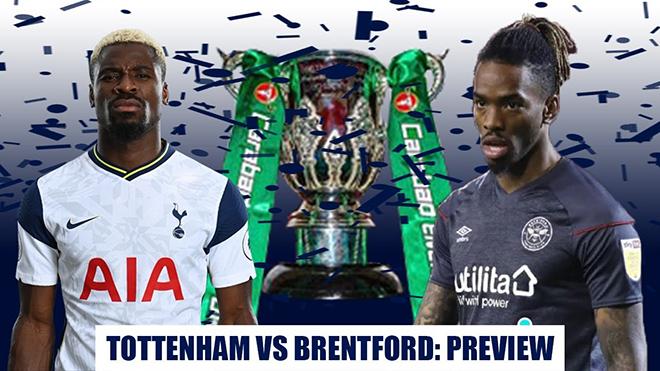 Lịch thi đấu bóng đá hôm nay. Trực tiếp Tottenham vs Brentford. BĐTV