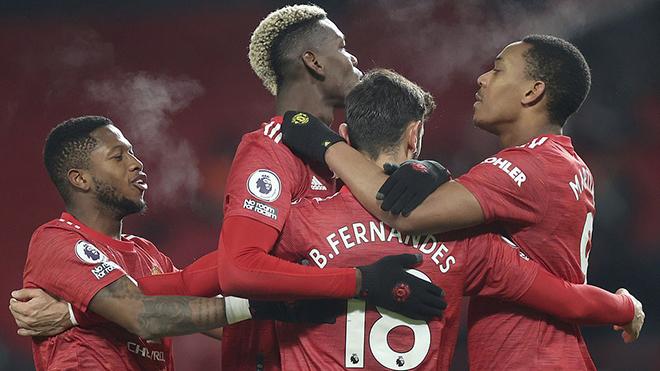 Kết quả bóng đá 1/1, sáng 2/1. MU đánh bại Aston Villa, bằng điểm Liverpool