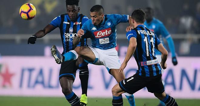 Napoli vs Atalanta, trực tiếp bóng đá, lịch thi đấu bóng đá, Cúp Italia