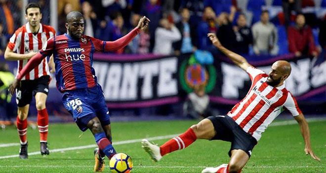 Bilbao vs Levante, kết quả bóng đá, cúp Nhà vua