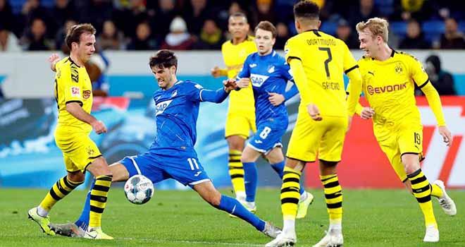 Dortmund vs Hoffenheim, lịch thi đấu bóng đá, trực tiếp bóng đá, Bundesliga, VTV6