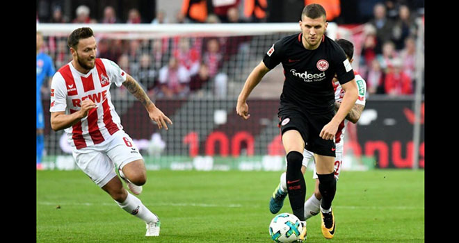 Frankfurt vs Cologne, lịch thi đấu bóng đá, trực tiếp bóng đá, Bundesliga, VTV6