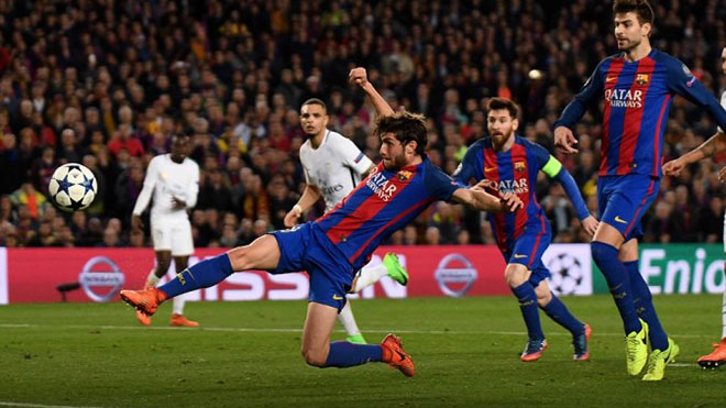 Video clip bàn thắng trận Barcelona vs PSG