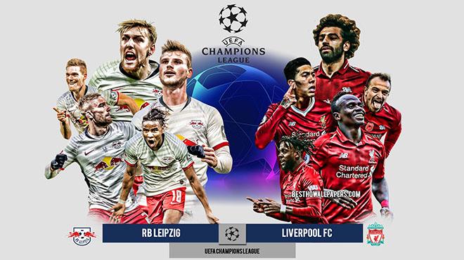 Video clip bàn thắng trận Leipzig vs Liverpool