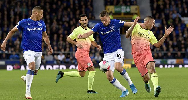 Video Everton vs Man City. Video clip bàn thắng trậnEverton vs Man City