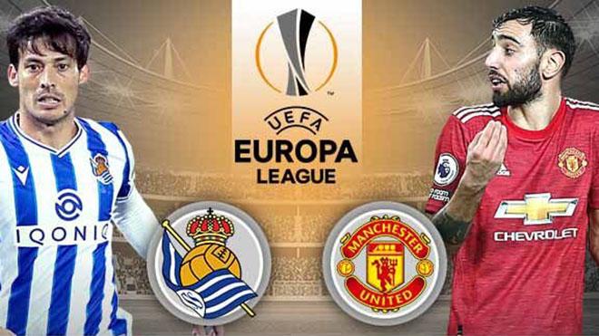 Lịch thi đấu bóng đá hôm nay. Trực tiếp Real Sociedad vs MU, Benfica vs Arsenal. K+, K+PM