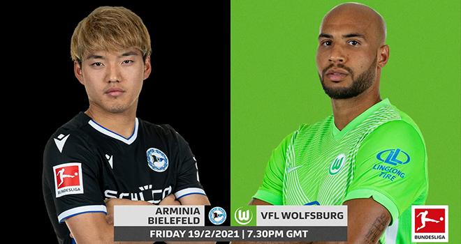 Bielefeld vs Wolfsburg, lịch thi đấu bóng đá, trực tiếp bóng đá, Bundesliga