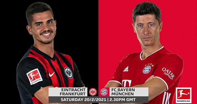 Frankfurt vs Bayern Munich, lịch thi đấu bóng đá, trực tiếp bóng đá, Bundesliga