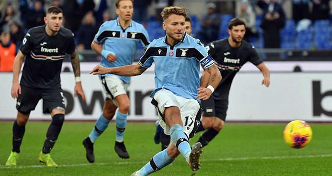 Lazio vs Sampdoria, lịch thi đấu bóng đá, trực tiếp bóng đá, Serie A