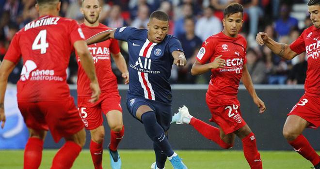 PSG vs Nimes, lịch thi đấu bóng đá, trực tiếp bóng đá, bóng đá Pháp