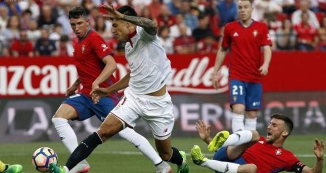 Osasuna vs Sevilla, lịch thi đấu bóng đá, trực tiếp bóng đá, La Liga, BĐTV