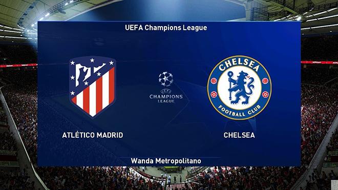 Lịch thi đấu bóng đá hôm nay: trực tiếp Atletico vs Chelsea. Lazio vs Bayern. K+PM, K+PC