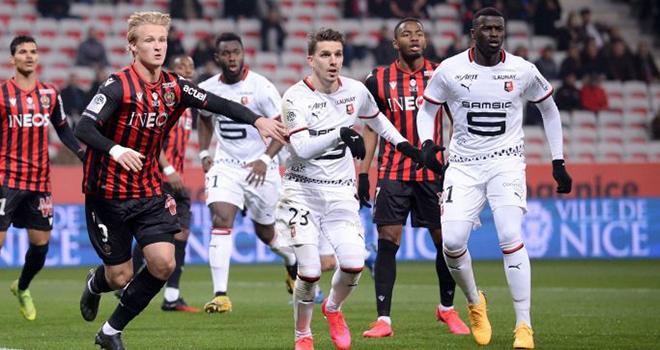 Rennes vs Nice, lịch thi đấu bóng đá, trực tiếp bóng đá, Ligue 1