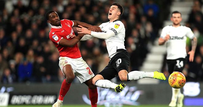 Derby County vs Nottingham Forest, lịch thi đấu bóng đá, trực tiếp bóng đá
