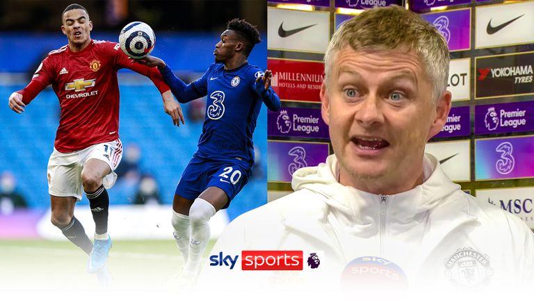 Ole Solskjaer: 'Vì tác động từ Chelsea, trọng tài đã lấy của MU 2 điểm'