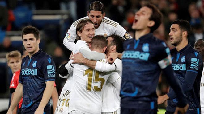 Kết quả bóng đá 1/3, sáng 2/3: Real Madrid suýt thua Sociedad ngay trên sân nhà