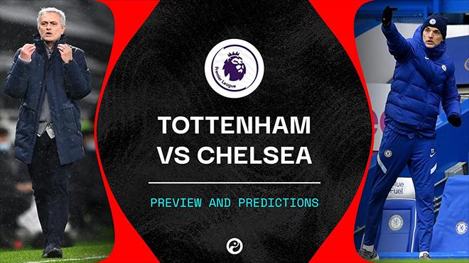 Lịch thi đấu bóng đá hôm nay. Trực tiếp Tottenham vs Chelsea. K+, K+PM