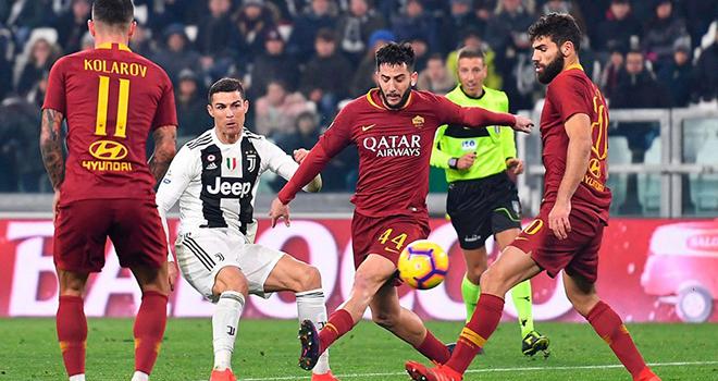 Juventus vs Roma. lịch thi đấu bóng đá, trực tiếp bóng đá, lịch thi đấu Serie A, trực tiếp Serie A, BXH Serie A, bóng đá Ý, FPT