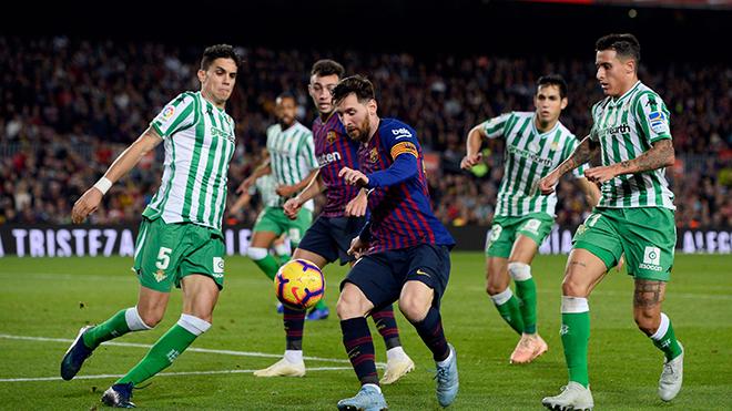 Video clip bàn thắng Real Betis vs Barcelona
