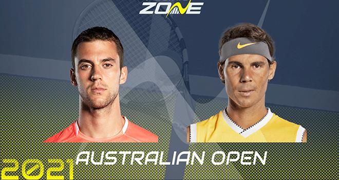 Ket qua tennis Australian Open hôm nay. Kết quả Úc mở rộng 2021, Kết quả Nadal, Kết quả tennis đơn nam: Djere vs Nadal, Kết quả tennis đơn nữ, Kết quả tennis hôm nay