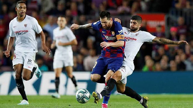 Video clip bàn thắng Sevilla vs Barcelona