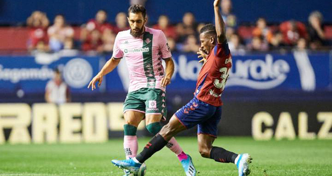 Lich thi dau bong da hom nay, Trực tiếp Real Betis vs Osasuna, BĐTV, SCTV, trực tiếp bóng đá, Real Betis vs Osasuna, trực tiếp La Liga, lịch thi đấu La Liga, BXH La Liga